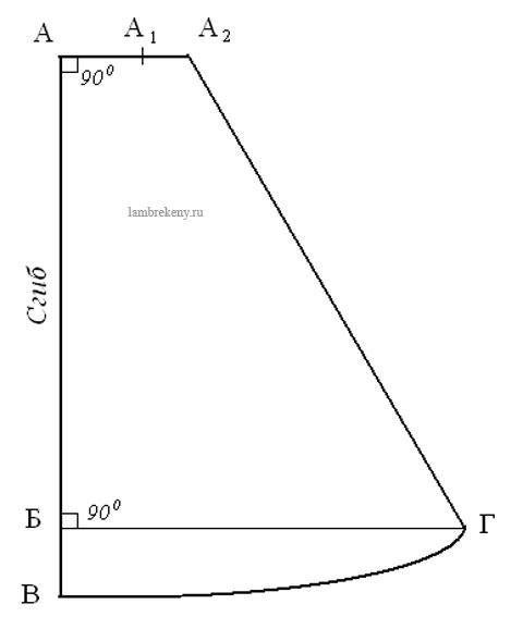 Построим сваг равносторонний